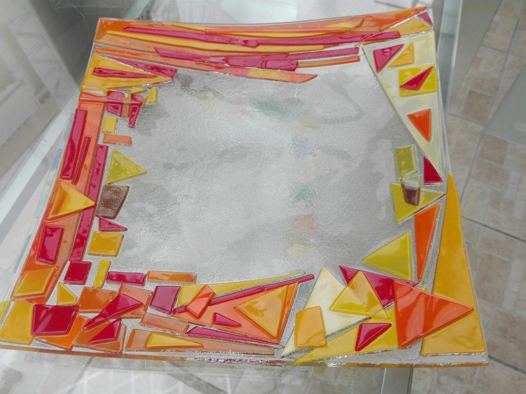 Portaoggetti in vetro